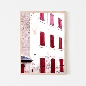 red windows spain print 5