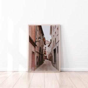 Old Street spain wall print
