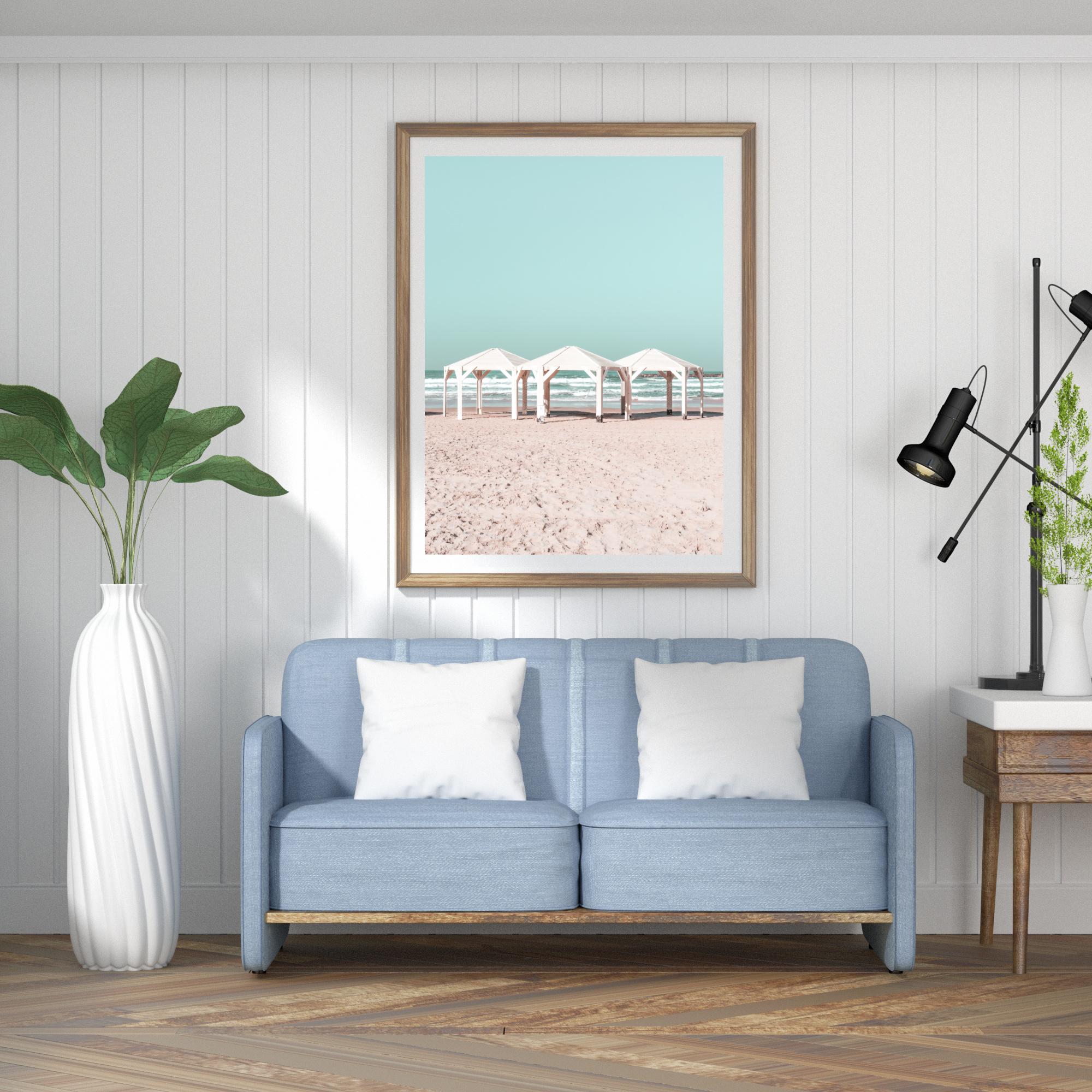 tel aviv beach print