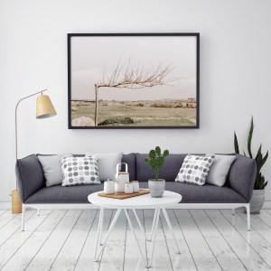 autumn tree tel aviv wall print