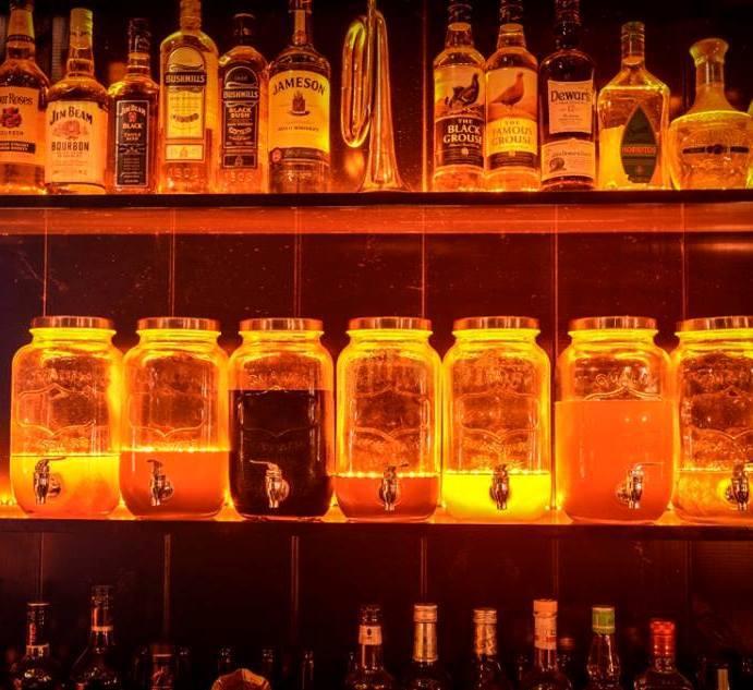 Moonshine cocktail bar Tel Aviv