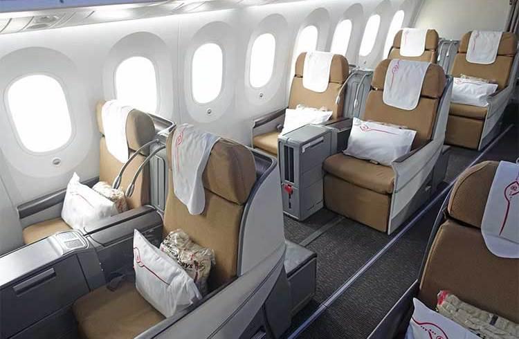 plane cabin business