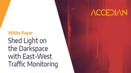 Shed Light on the Darkspace with East-West Traffic Monitoring