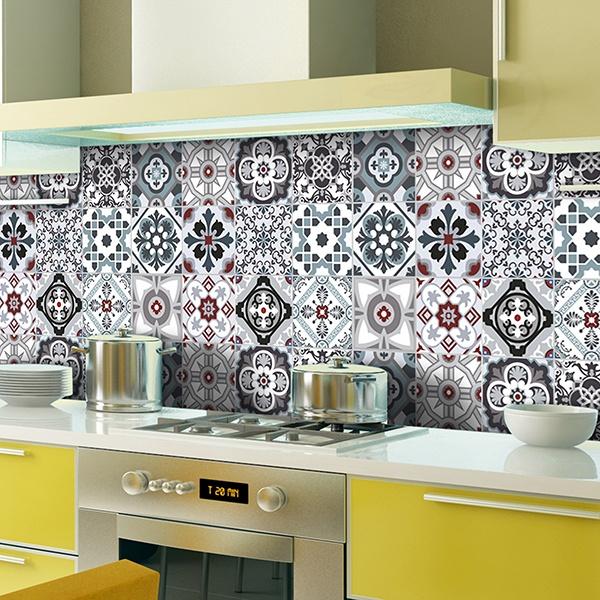 Vinilos Para Azulejos Cocina Vintage Novocom Top