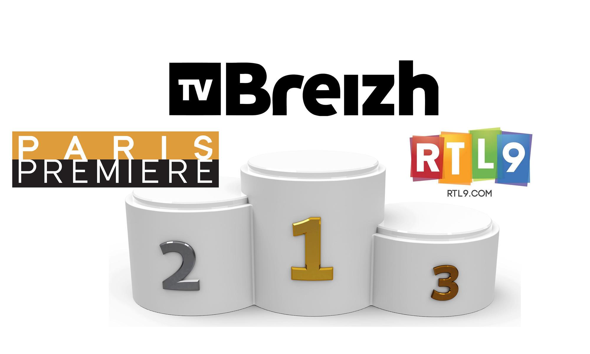 Tv Breizh Paris Premiere Et Rtl9 Les 3 Chaines Thematiques Les Plus Regardees Telecable Sat Hebdo