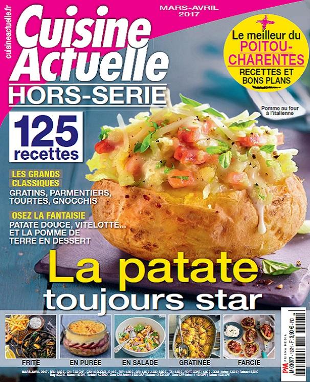 Cuisine Actuelle Hors Serie Septembre Octobre 2017
