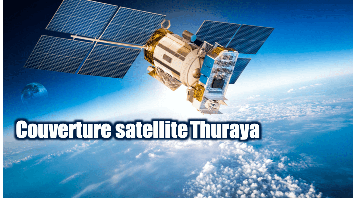 couverture satellite Thuraya