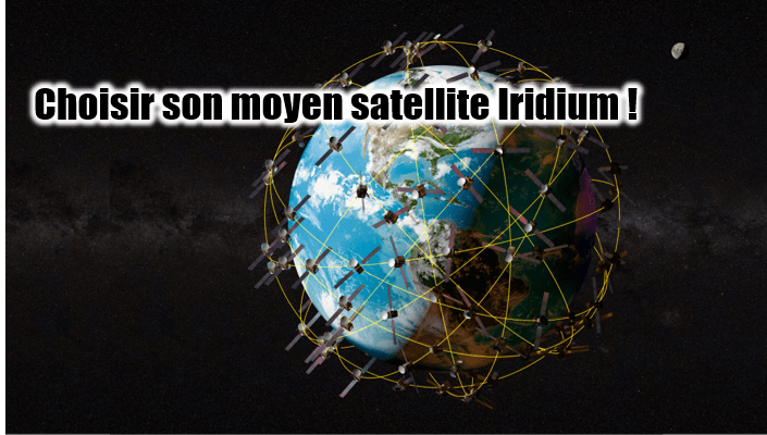 Choisir son moyen satellite Iridium