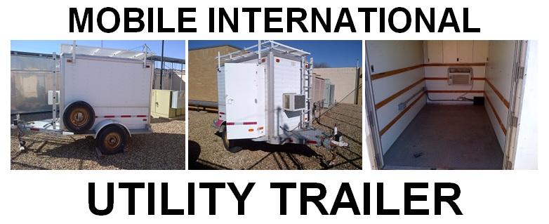 Mobile International Utility Trailer For Sale- Bid Offer ... on golf cart utility trailer, farm utility trailer, mobile home camper trailer, boat utility trailer, mobile home moving trailer,