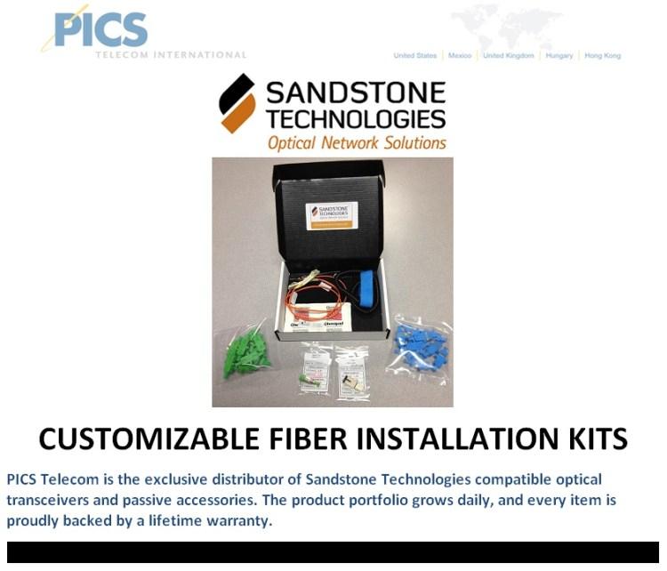Sandstone Custom Fiber Install Kits For Sale Top (2.4.14)