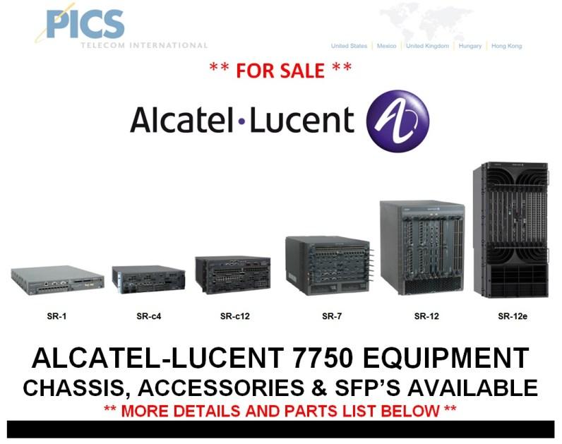 Alcatel-Lucent 7750 Parts For Sale Top (7.22.14)