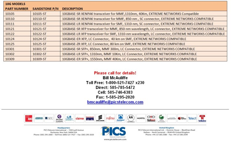 Extreme Networks Equipment For Sale Bottom (7.23.14)