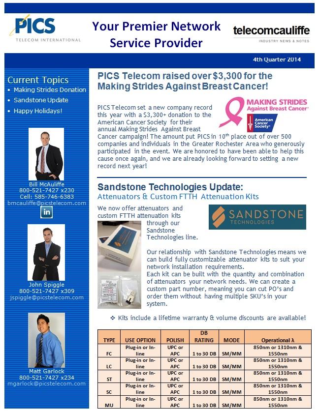 Newsletter Sample Small