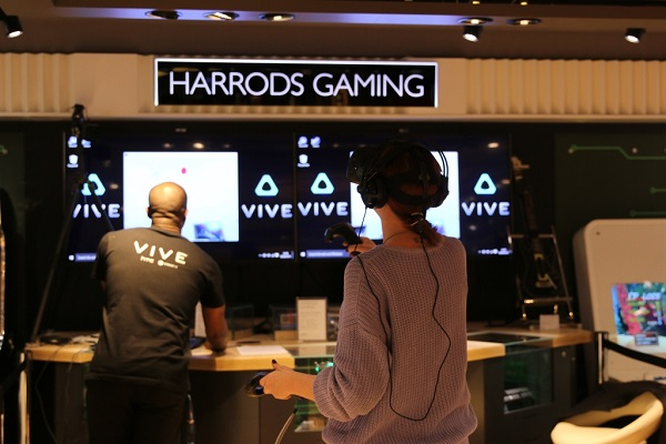 Virtual Reality Heading To Harrods In London With Htc Vive  Telecom Drive