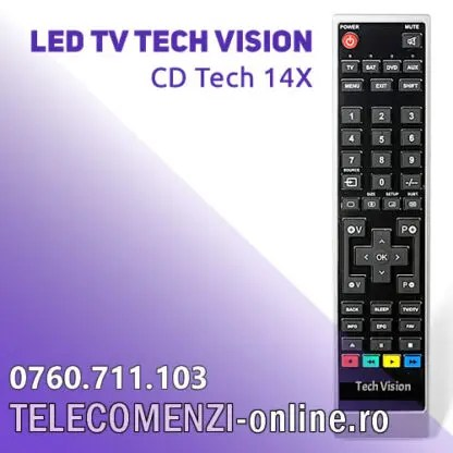 Telecomanda Tech Vision CD Tech 14X