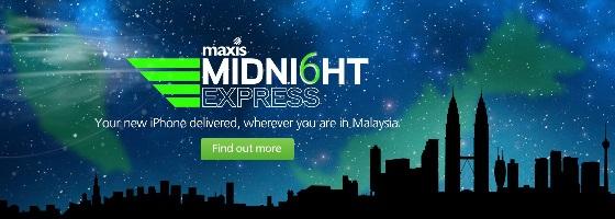 Maxis iPhone 6 & 6 Plus