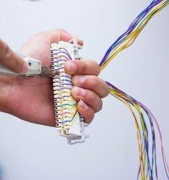 telephone wiring [ 1200 x 1200 Pixel ]