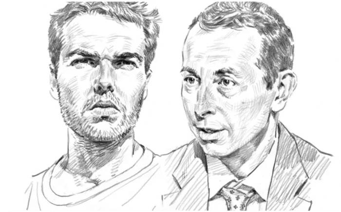 Philippe Lemoine et Nicolas Schimel à l'occasion d'une tribune pour Le Figaro