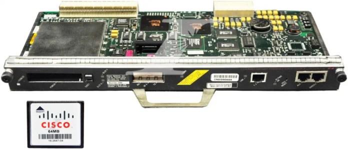Tarjeta C7200-I/O-GE+E con memoria Flash de 64MB