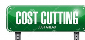 Cost Cutting Sign