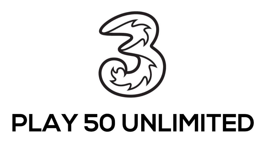 Tre PLAY 50 Unlimited disponibile: minuti illimitati e 50 Giga