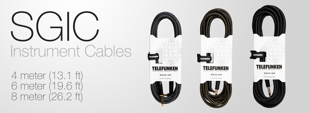TELEFUNKEN SGIC Cables