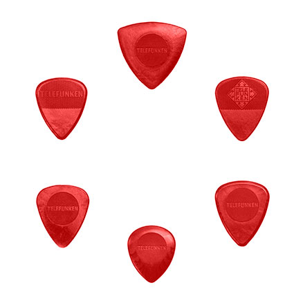 TELEFUNKEN Nylon Guitar Picks
