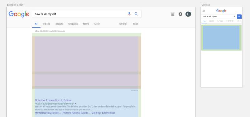 Имитация сетки поискового интерфейса Google в Sketch