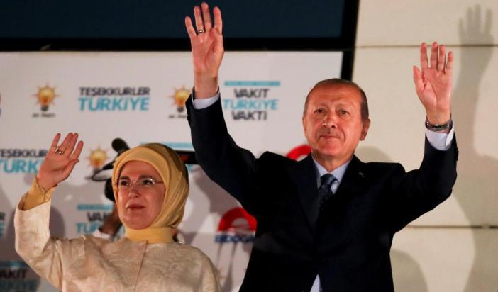 Kembali Menangkan Pemilu Turki, Erdogan Deklarasikan Kemenangan
