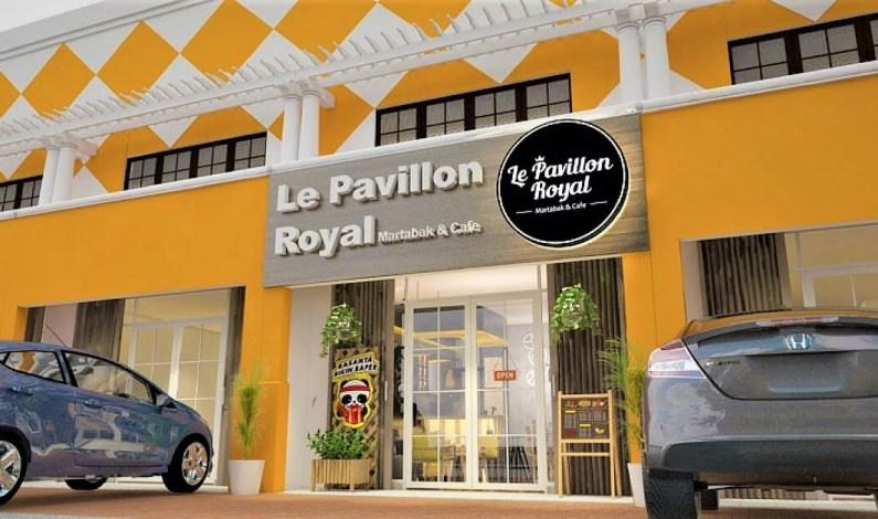 Royal Corporation meluncurkan Waralaba Le Pavillon Royal Martabak & Coffee
