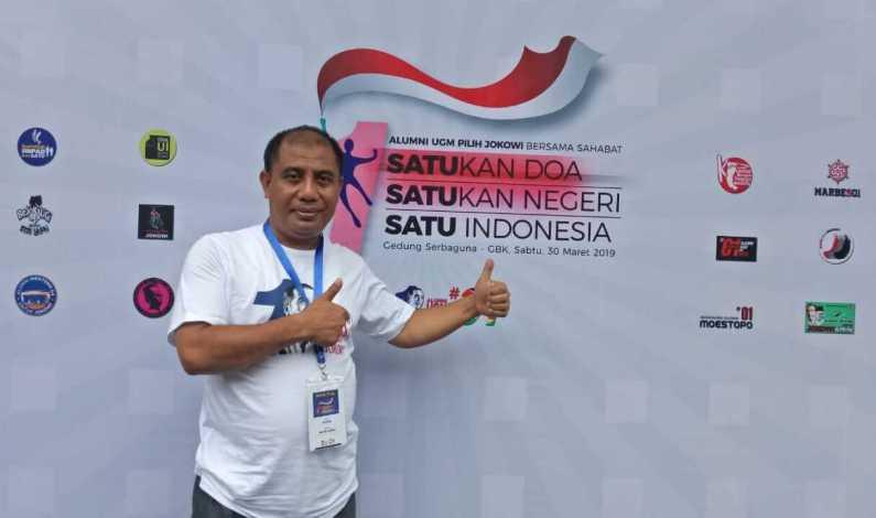 Alumni UGM Adakan Doa Bersama Untuk Kemenangan Paslon 01 (Jokowi-Amin)