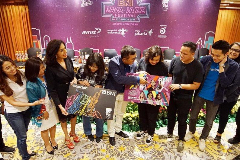 BNI Java Jazz Festival 2019 Akan Tampilkan Banyak Kolaborasi Menarik