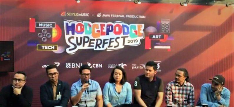 Berikut Line Up yang akan Tampil di Hodgepodge Superfest 2019