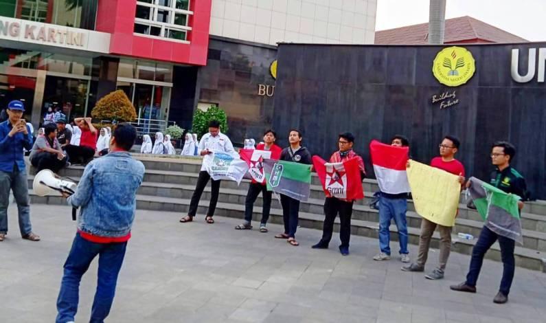 Tanggapi Isu SARA Papua, Aliansi Cipayung Plus UNJ Gelar Aksi Solidaritas