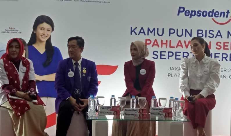 """Pepsoden Inisiasi Gerakan """"Indonesia Tersenyum"""" Di Hari Kesehatan Gigi Nasional 2019"""