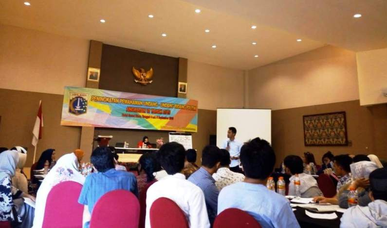 Adakan Seminar Pemahaman Politik Kesbangpol DKI Jakarta Gandeng GMNI