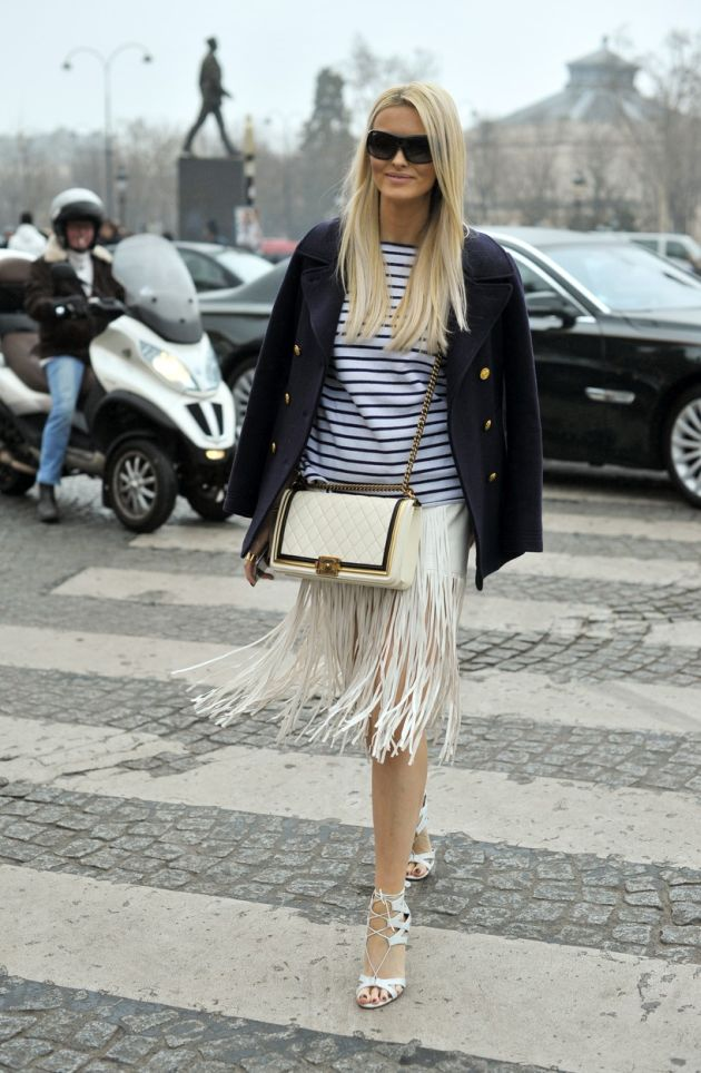 Editor Kate Davidson Hudson arriving at the Chanel Fall 2015 runway show in Paris - March 10, 2015 - Photo: Runway Manhattan/Celine Gaille /Mindesthonorar 50,- EUR / Minimum Fee 50,- EUR/picture alliance, Image: 225556736, License: Rights-managed, Restrictions: Mindesthonorar 50,- EUR / Minimum Fee 50,- EUR GERMANY OUT, Model Release: no, Credit line: Profimedia, AFP