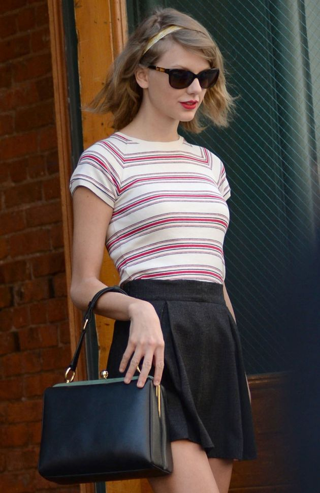 April 24, 2014 New York City Taylor Swift out and about in TriBeCa in New York City on April 24, 2014. By Line: Kristin Callahan/ACE Pictures ACE Pictures, Inc. tel: 646 769 0430 Email: info@acepixs.com, Image: 191780215, License: Rights-managed, Restrictions: , Model Release: no, Credit line: Profimedia, Acepixs