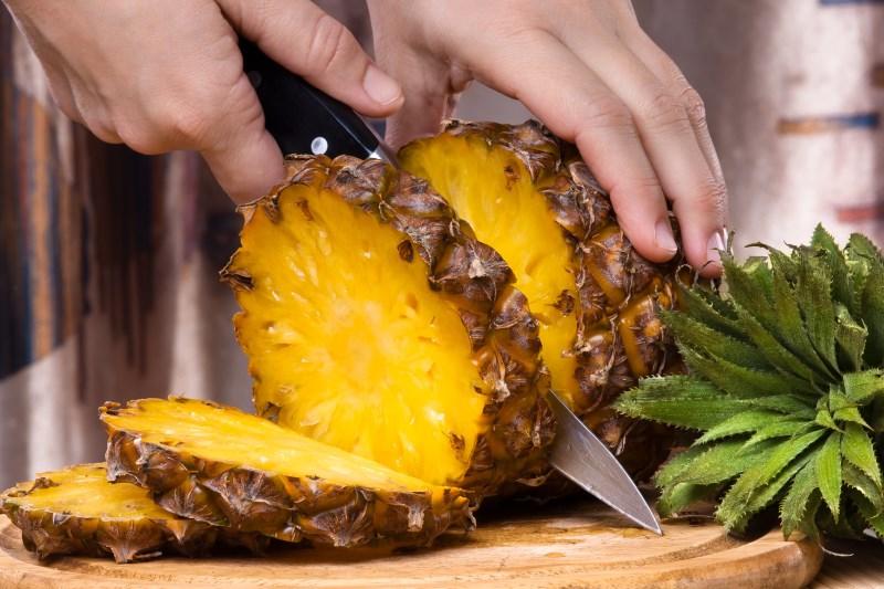 Pineapple Improves Eye Health