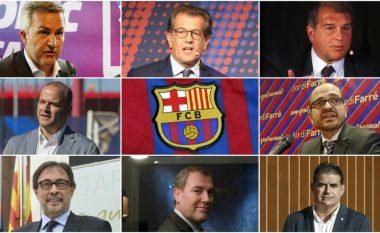 Tetë kandidatët për president të Barcelonës pas largimit të Bartomeut