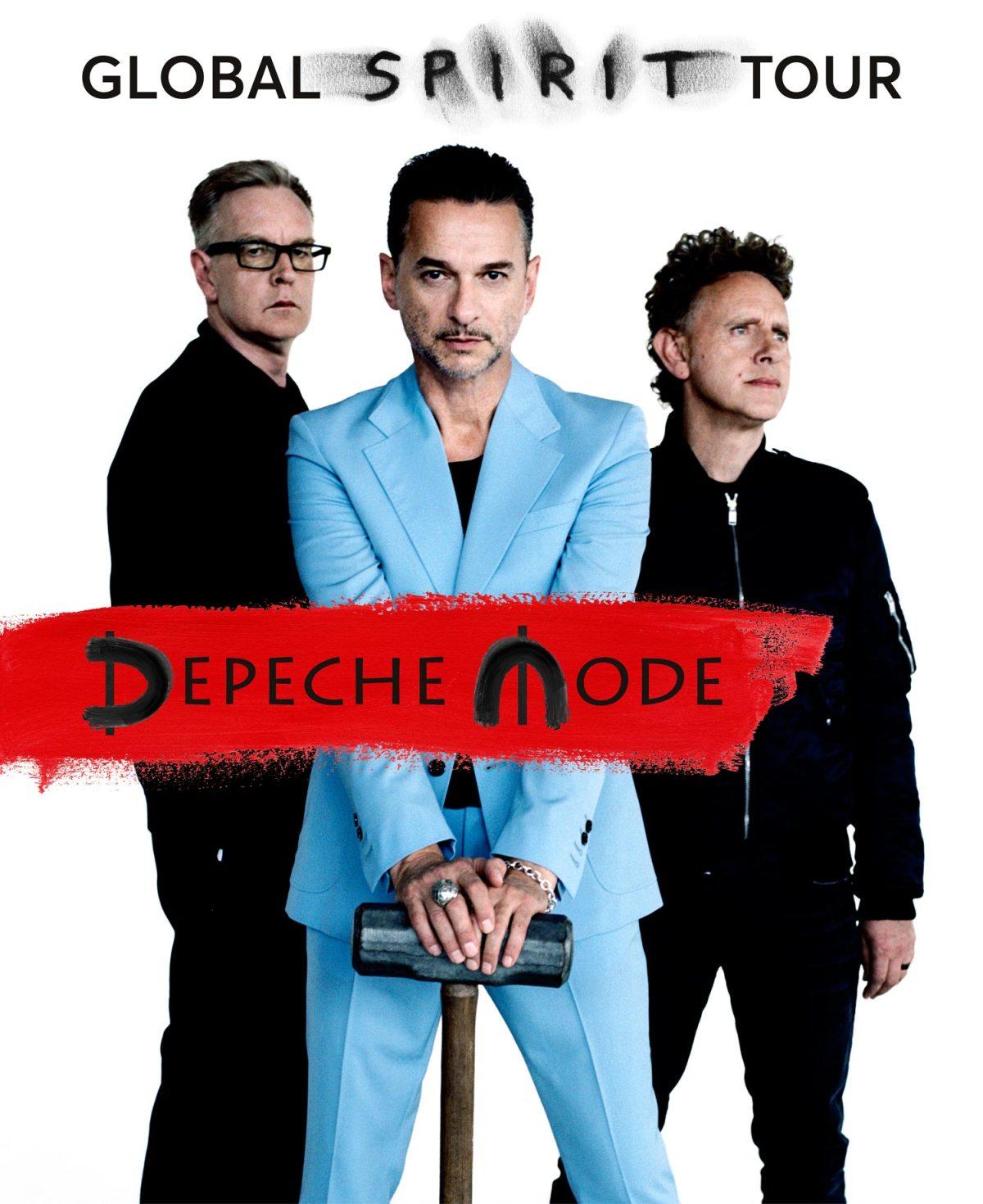 La imagen de difusión de la nueva producción de Depeche Mode.