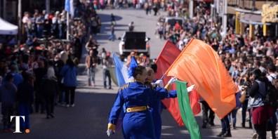 Desfile de carrozas en la Fiesta de la Diversidad Cultural