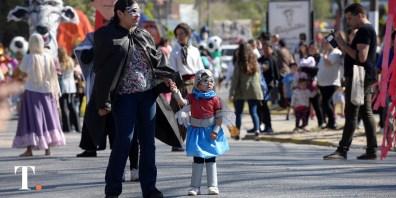 Buena participación de turistas y geselinos (Fotos Ricardo Stinco).