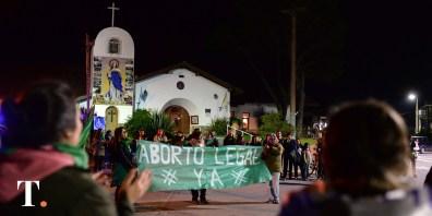Marcha Ni Una Menos, también pidió por el aborto legal (Fotos Ricardo Stinco).