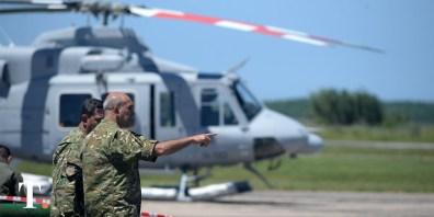 Un ensayo de convivencia e intercambio de conocimientos técnicos y tácticos entre militares.
