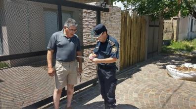 La Policía volvió a salir a la calle para interactuar con los vecinos