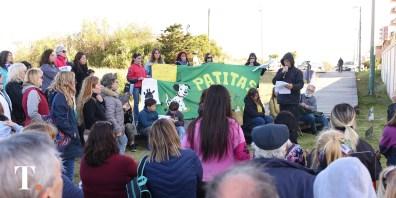 El encuentro se realizó en Playa y 303 (Fotos Ricardo Stinco).