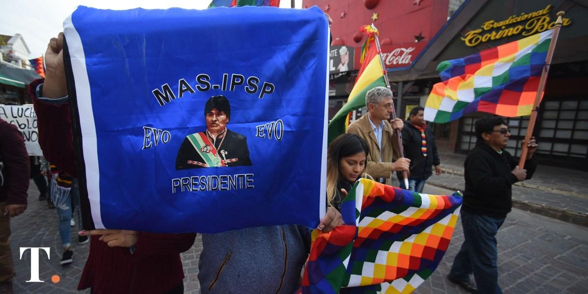 Evo Morales fue obligado a renunciar a la presidencia de Bolivia (Foto Ricardo Stinco).
