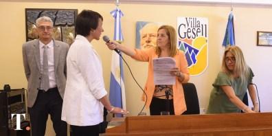 Clarisa Armando, concejal de Juntos por el Cambio (Fotos Ricardo Stinco).