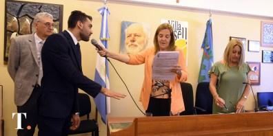 José Alessi, flamante concejal oficialista (Fotos RIcardo Stinco).